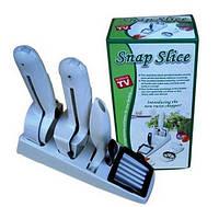 Ручной кухонный комбайн, ломтерезка Snap-n-Slice