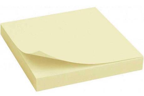 Бумага клейкая 76х102мм 100л желт. 8069 Scholz, фото 2