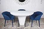 Стол Georgia 120 (Джорджия), белый (Бесплатная доставка), Nicolas, фото 3
