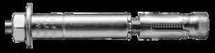 R-SPL-BP Анкер SafetyPlus с гайкой и шпилькой