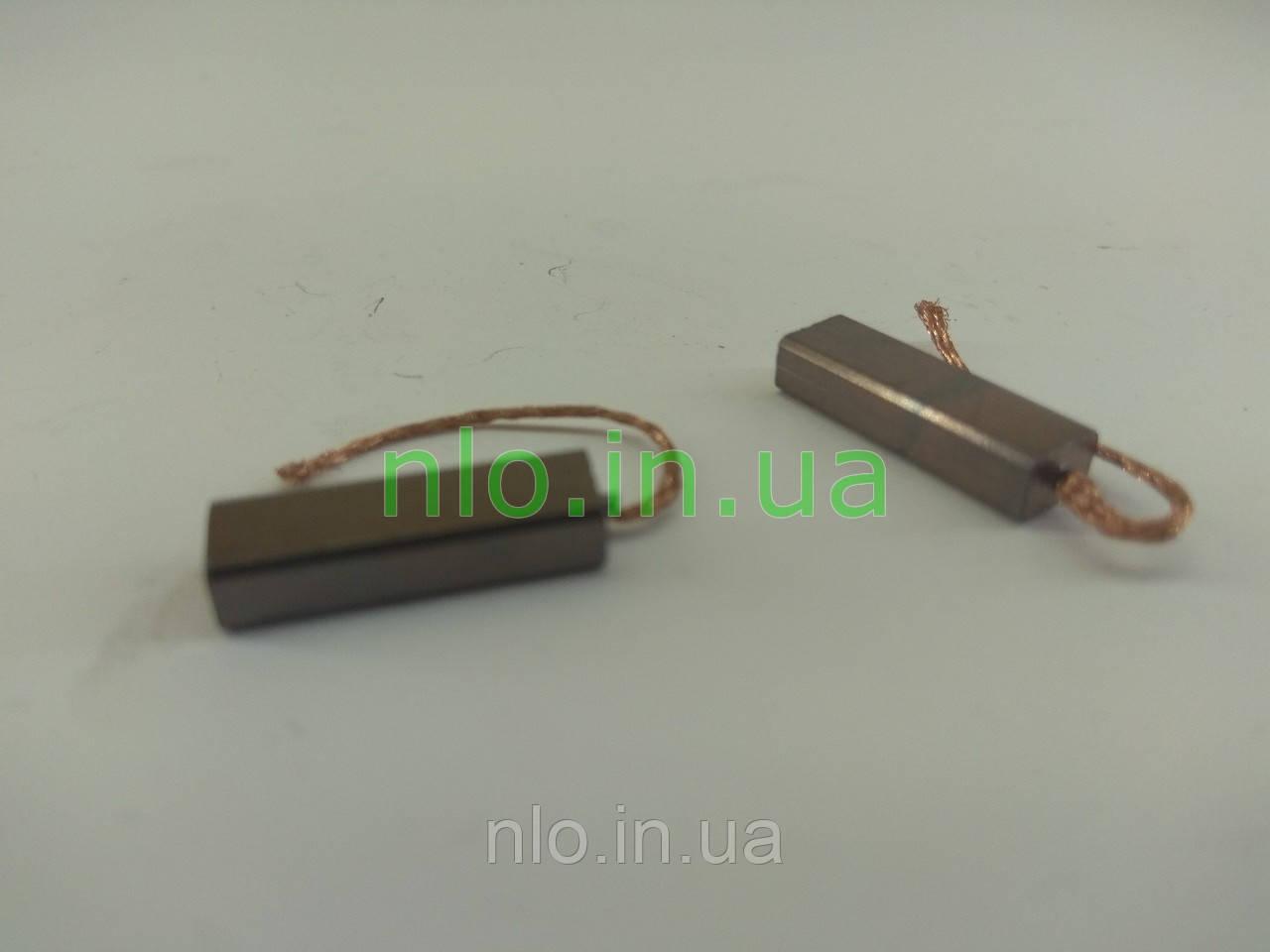 Щетки меднографитовые 4х6х19 провод 35 мм