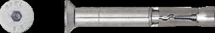 R-SPL-C Анкер SafetyPlus с болтом с потайной головкой