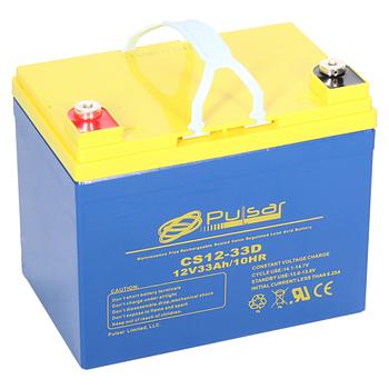 Аккумулятор AGM Pulsar CS12-33D