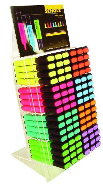 Набор текстмаркеров 96шт 1-5мм в дисплее 210 Scholz