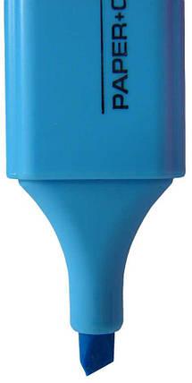 Текстмаркер 1-5мм голубой 210 Scholz, фото 2