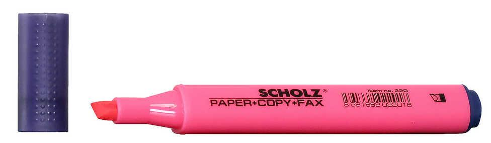 Текстмаркер 1-5мм розовый 220 Scholz