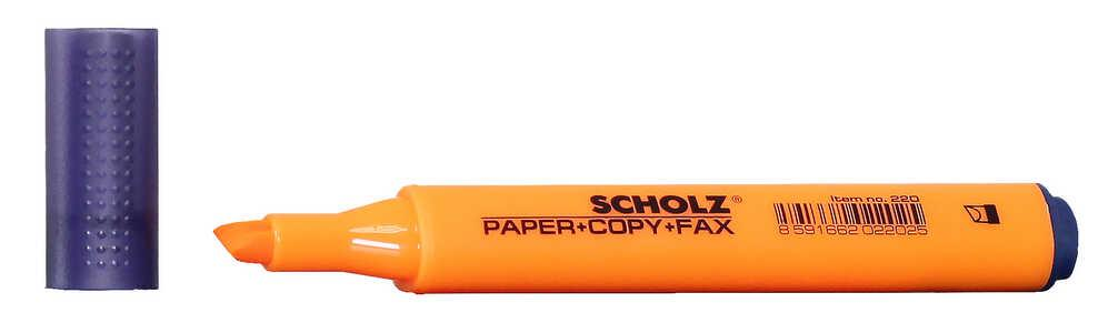 Текстмаркер 1-5мм оранжевый 220 Scholz