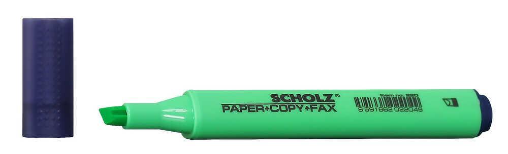 Текстмаркер 1-5мм зеленый 220 Scholz