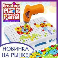 Детский конструктор мозаика Creative Magic Panel для детей