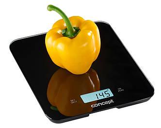 Кухонные весы цифровые Concept VK-5712 черные Чехия