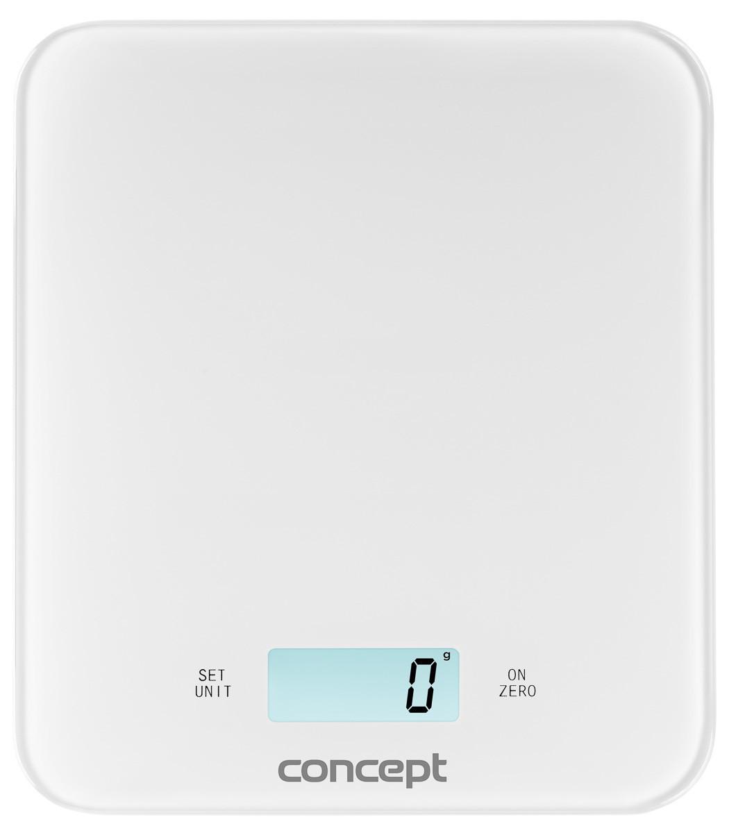 Кухонні ваги цифрові Concept VK-5711 білі Чехія