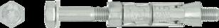 R-RBL Анкер-гильза RAWLBOLT® с болтом для бетона с трещинами и без трещин