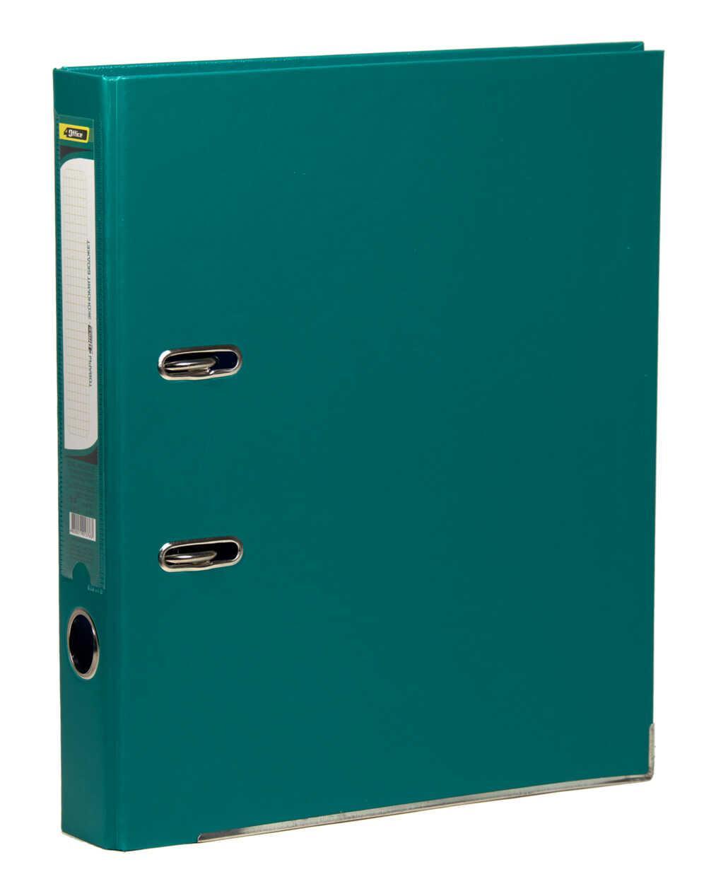 Регистратор (сегрегатор) А4 5см РP зелёный 4-247, 4OFFICE