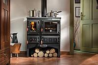 Отопительно варочная печь камин на дровах ( Шпор ) KVS Moravia 9170 Oliver.