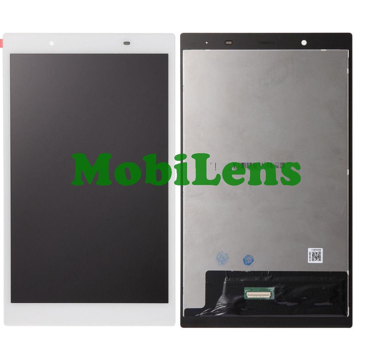 """Lenovo TB-8504, (зеленый коннектор), TB-8504F, TB-8504X, Tab 4 8"""" Дисплей+тачскрин(модуль) белый"""