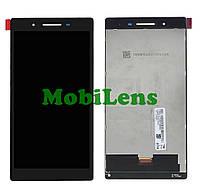 Lenovo 3-730, Размер:187*97mm, TB3-730X, ZA130192UA, TB-7304i ZA310064UA, TV070WSM-TL1 Дисплей+тачскрин черный