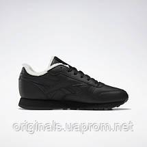 Утепленные женские кроссовки Reebok Classic Leather FU7775, фото 3