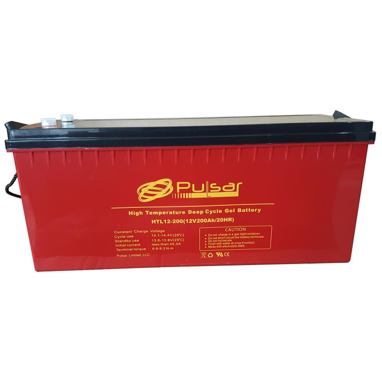 Аккумулятор GEL Pulsar HTL12-250