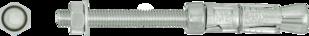 R-RBP Анкер-гильза RAWLBOLT® с гайкой и шпилькой  для бетона с трещинами и без трещин