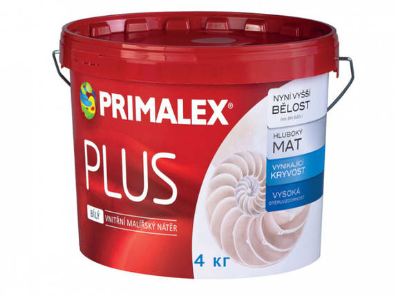 Фарба Primalex Plus 4 кг, фото 2