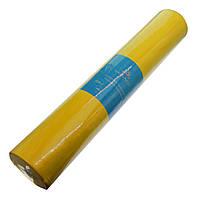 """Одноразовые простыни """"Monaco Style"""" рулон 0,6х100 м, цвет желтый"""
