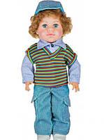 Детская кукла ЖЕНЯ В ЖИЛЕТЕ 40см, фото 1