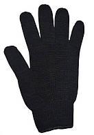 Перчатки хлопчатобумажные черные двойные 540
