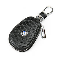 PODIUM Автоключница кожа F625 BMW black