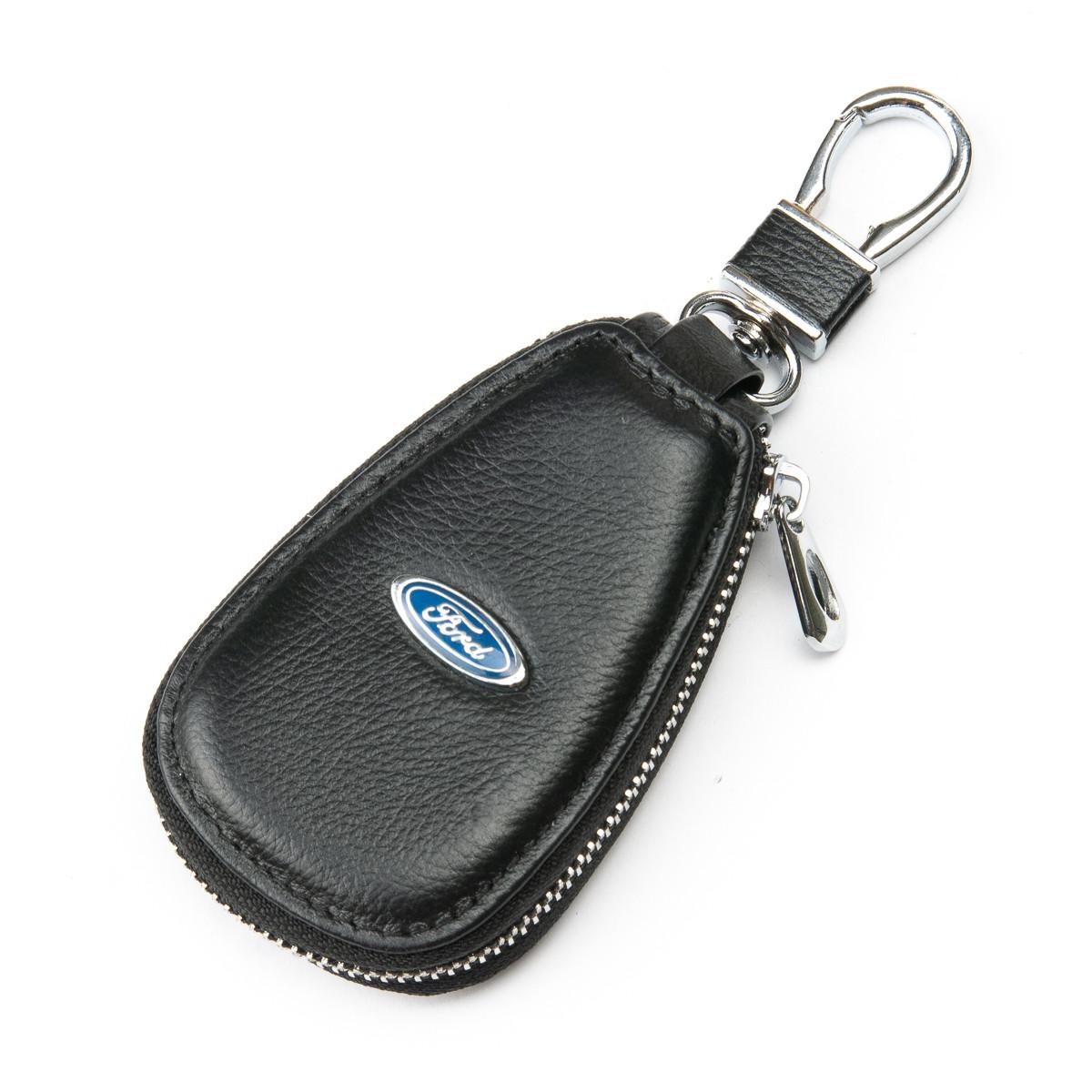 PODIUM Автоключница кожа F633 Ford black