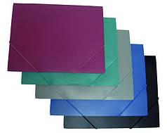 Папка на резинке А4, PP цвета в ассортименте 4-209, 4OFFICE Ec.L.