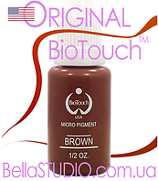 Пигмент Тёмно-коричневый (BioTouch, США) 16 мл