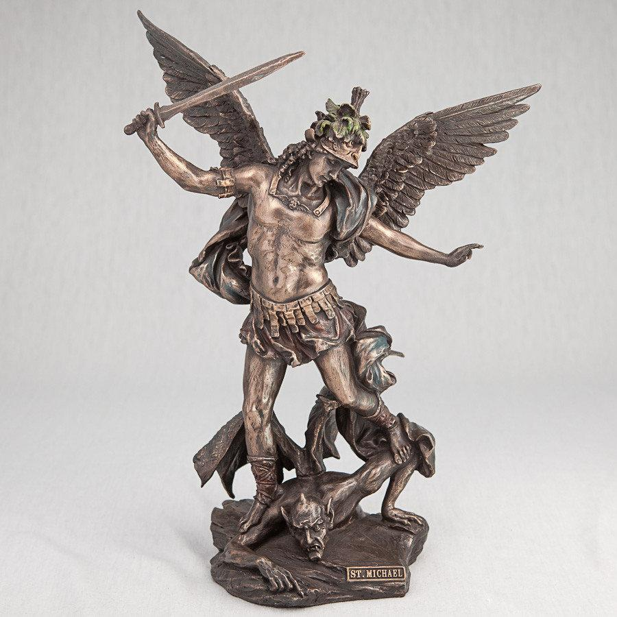 Статуэтка Veronese Архангел Михаил, 28 см (75361 A4)