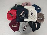 М 5043 Комплект женский: шапка+хомут,марс, флис, размер свободный, фото 2