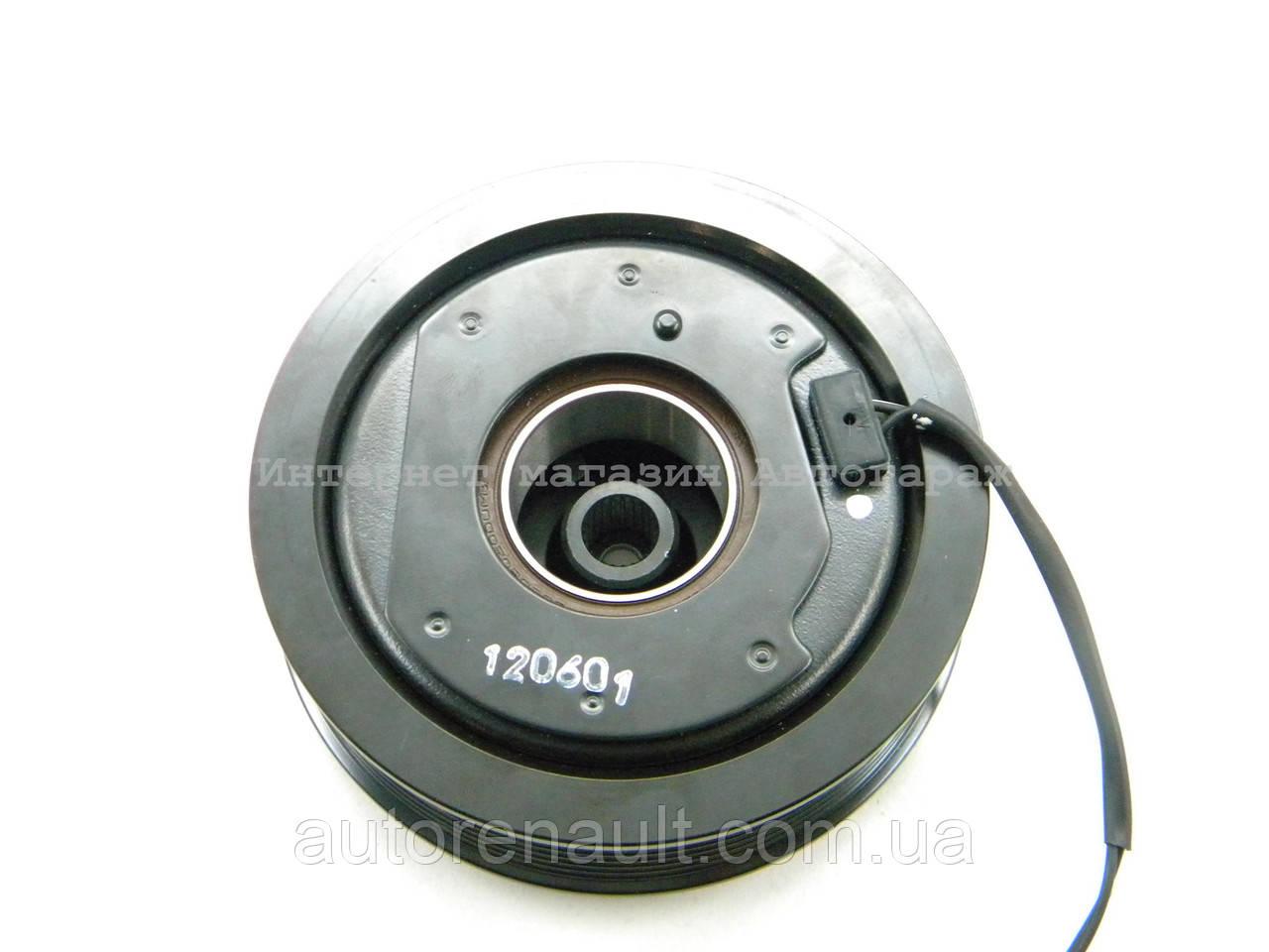 электромагнитная муфта компрессора кондиционера на renault логан