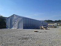 Шатер 6х12 ПВХ 560 г/м2 с мощным каркасом торговый павильон кафе бар палатка тент, фото 2