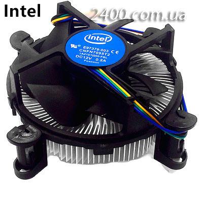 Кулер процесорний Intel, вентилятор, система охолодження CPU, 4-pin для ПК