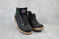 Мужские ботинки кожаные зимние черные Cardio 179, фото 1