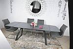 Стол обеденный LONDON (160/240*90*75cmH) керамика мокрый асфальт, Nicolas, фото 2