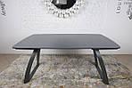 Стол обеденный LONDON (160/240*90*75cmH) керамика мокрый асфальт, Nicolas, фото 7