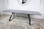Стол обеденный LONDON (160/240*90*75cmH) керамика мокрый асфальт, Nicolas, фото 6
