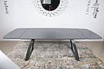 Стол обеденный LONDON (160/240*90*75cmH) керамика мокрый асфальт, Nicolas, фото 5