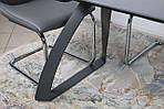 Стол обеденный LONDON (160/240*90*75cmH) керамика мокрый асфальт, Nicolas, фото 9