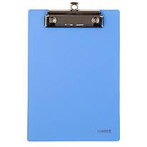 Планшет пластиковый А5 с металлическим клипом голубой Axent, 2516-07-A, 37267