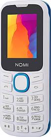 Мобільний телефон Nomi i184 White-Blue Гарантія 12 місяців