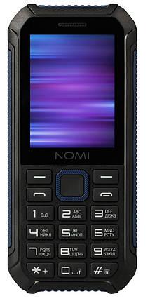 Мобільний телефон Nomi i245 X-treme Black-Blue Гарантія 12 місяців, фото 2