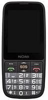 Мобільний телефон Nomi i281+ Black Гарантія 12 місяців