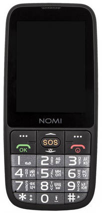 Мобільний телефон Nomi i281+ Black Гарантія 12 місяців, фото 2