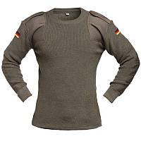 Шерстяной свитер (пуловер) BW, олива. НОВЫЙ. Германия, оригинал.