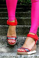 Стильные босоножки сникерсы в наличии копия бренда Isabel Marant 40 размер