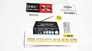 Усилитель звука UKC SN-308BT USB+SD+MP3, фото 2